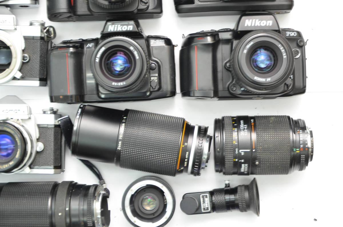 S48 NIKON ニコン FT FT2 FTN FE FE2 EM F80 F90 一眼レフ MF AF ズームレンズ 単焦点 まとめてセット S203_画像5