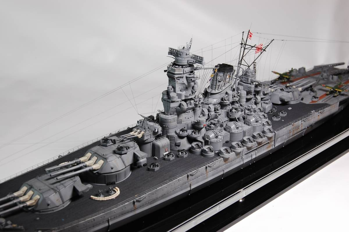 1/350 戦艦 大和 W/L仕様精密塗装完成品_画像2