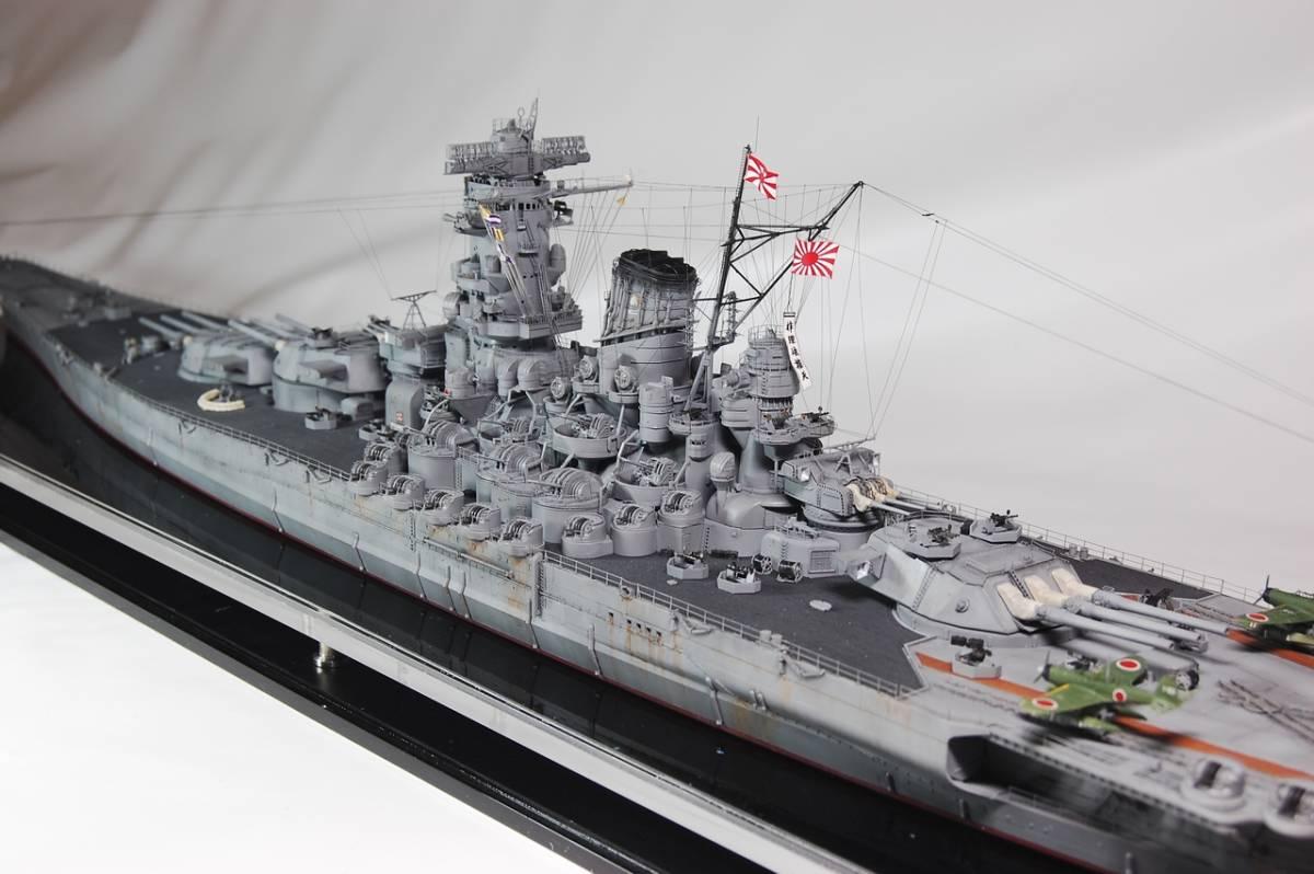 1/350 戦艦 大和 W/L仕様精密塗装完成品_画像3