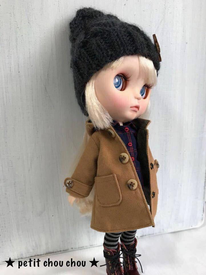 ★ ブライス アウトフィット ★ コート ・ニット帽・ワンピース・ニットシャツブラウス・デニムスカート…9点セット115拍卖