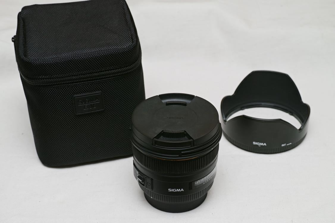 SIGMA SIGMA 50 mm F1.4 EX DG HSM用於SONY單焦點全尺寸兼容工作部件的SONY相機鏡頭 編號:w273014717
