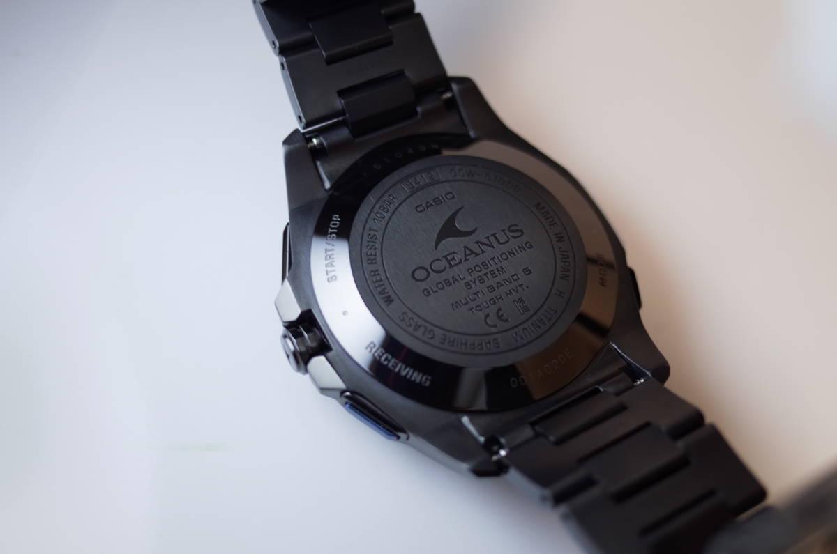 [未使用]卡西歐Oceanus GPS混合收音機電太陽能價格22萬日元 編號:339815409