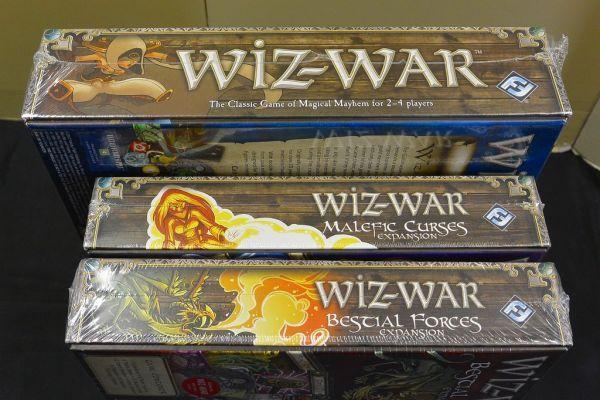 ボードゲーム◆Wiz-War + 拡張版2個セット●TOM JOLLY●Fantasy Flight Games●海外版●未開封_画像3