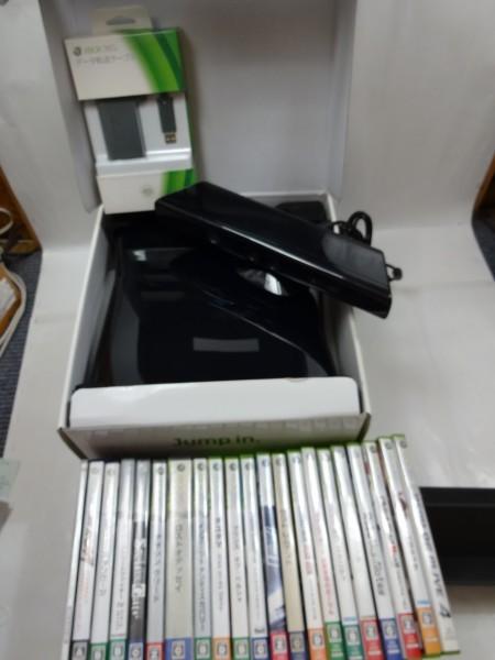 ★盛りだくさん★XBOX360本体250GB/KINECT キネクトセット ゲームソフト21本付き まとめ売り!_画像4