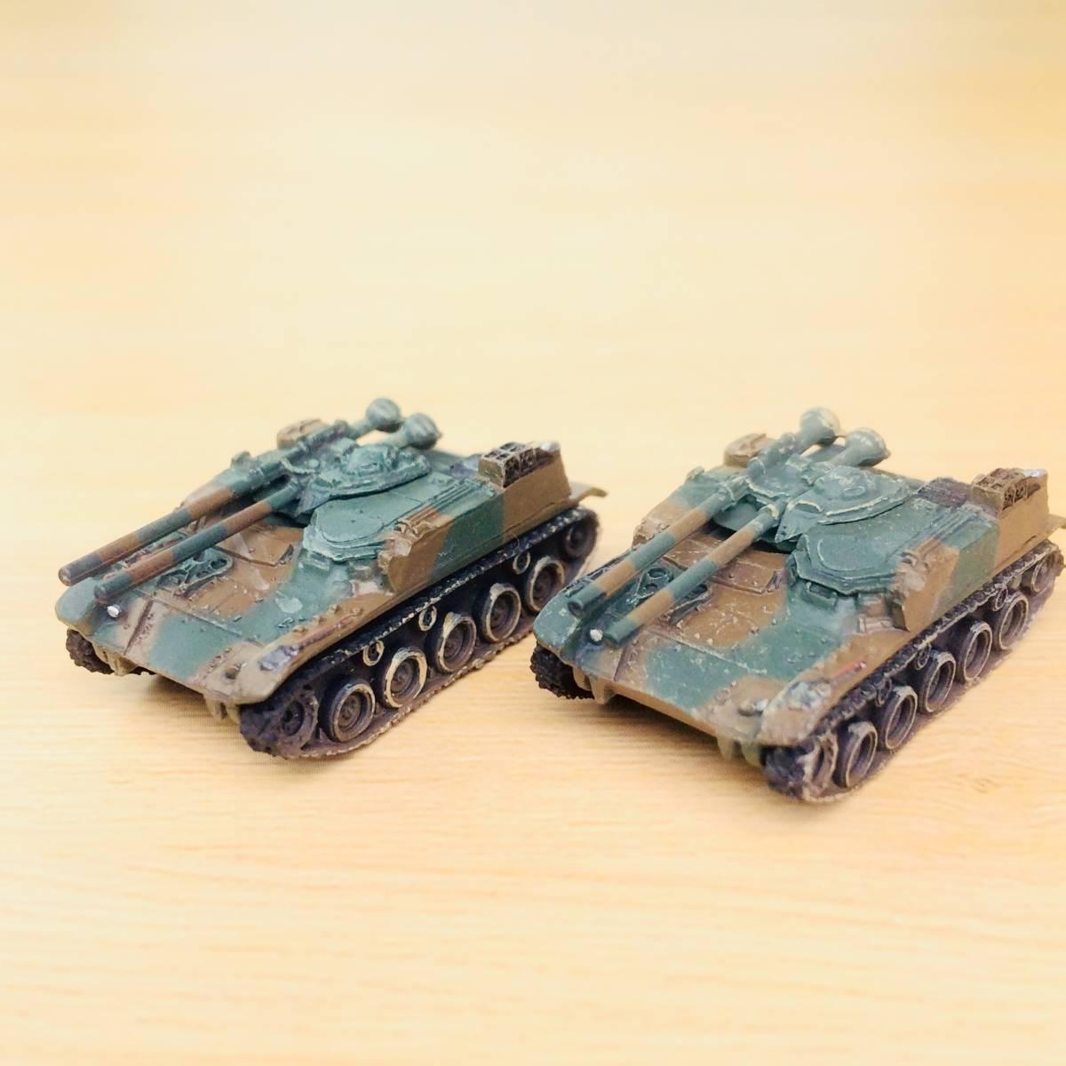 タカラ 1/144 ワールドタンクミュージアム04 「陸上自衛隊60式自走無反動砲 二色迷彩」2両まとめて