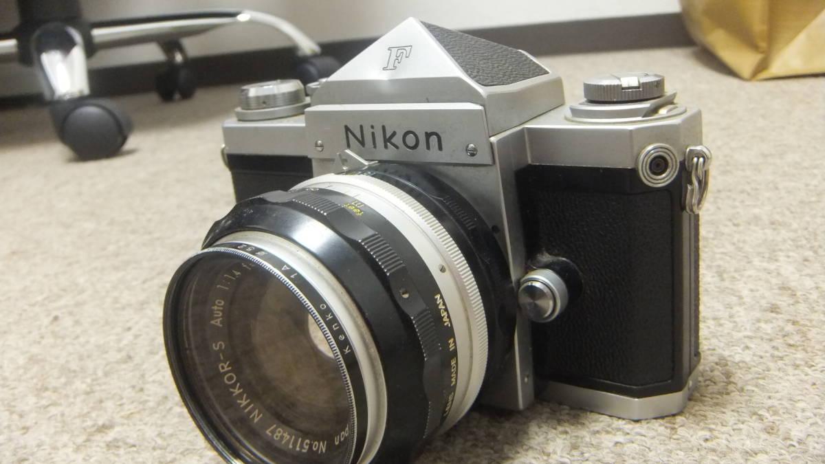 749☆ニコン NIKON F NIKKOR-S 1:14 F=50mm ジャンク SANKYO KOHKI 望遠レンズ