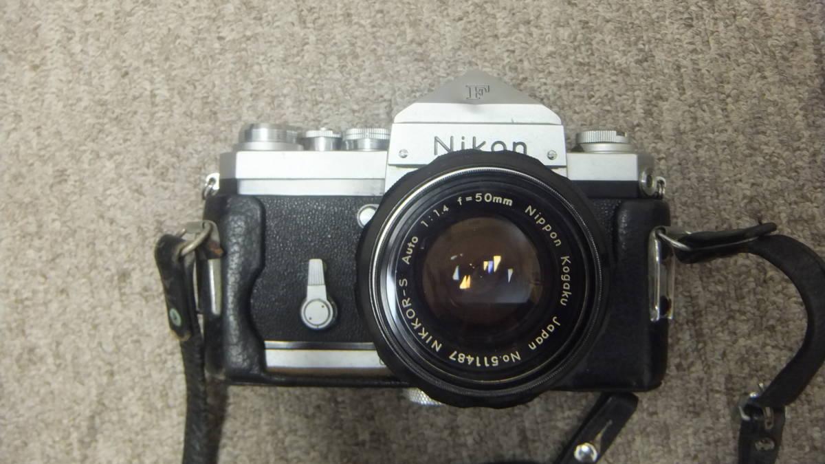 749☆ニコン NIKON F NIKKOR-S 1:14 F=50mm ジャンク SANKYO KOHKI 望遠レンズ_画像4