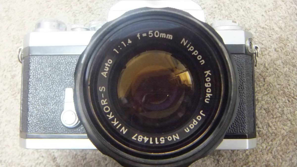 749☆ニコン NIKON F NIKKOR-S 1:14 F=50mm ジャンク SANKYO KOHKI 望遠レンズ_画像5