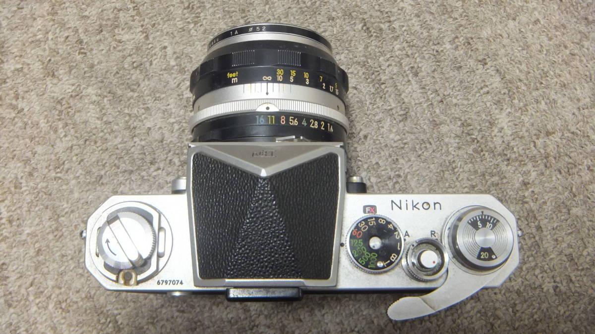 749☆ニコン NIKON F NIKKOR-S 1:14 F=50mm ジャンク SANKYO KOHKI 望遠レンズ_画像6