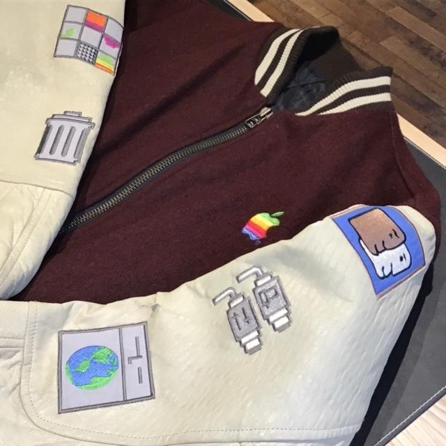【超レア品】アップルコンピュータ スタジャン スタジアムジャンパー 正規品 1996年製 サイズL~LL