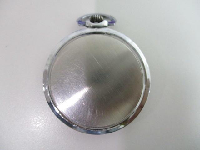 4682◆MOVADO モバード 懐中時計 クロノメーター 15石 稼働品 アンティーク 手巻き_画像6