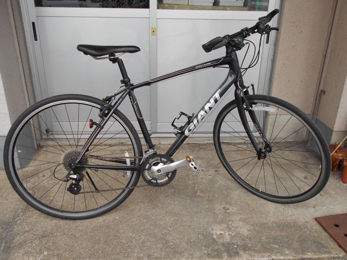 中古 GIANT ジャイアント ESCAPE エスケープ RX クロスバイク 自転車 24段変速 軽量アルミフレーム_画像1
