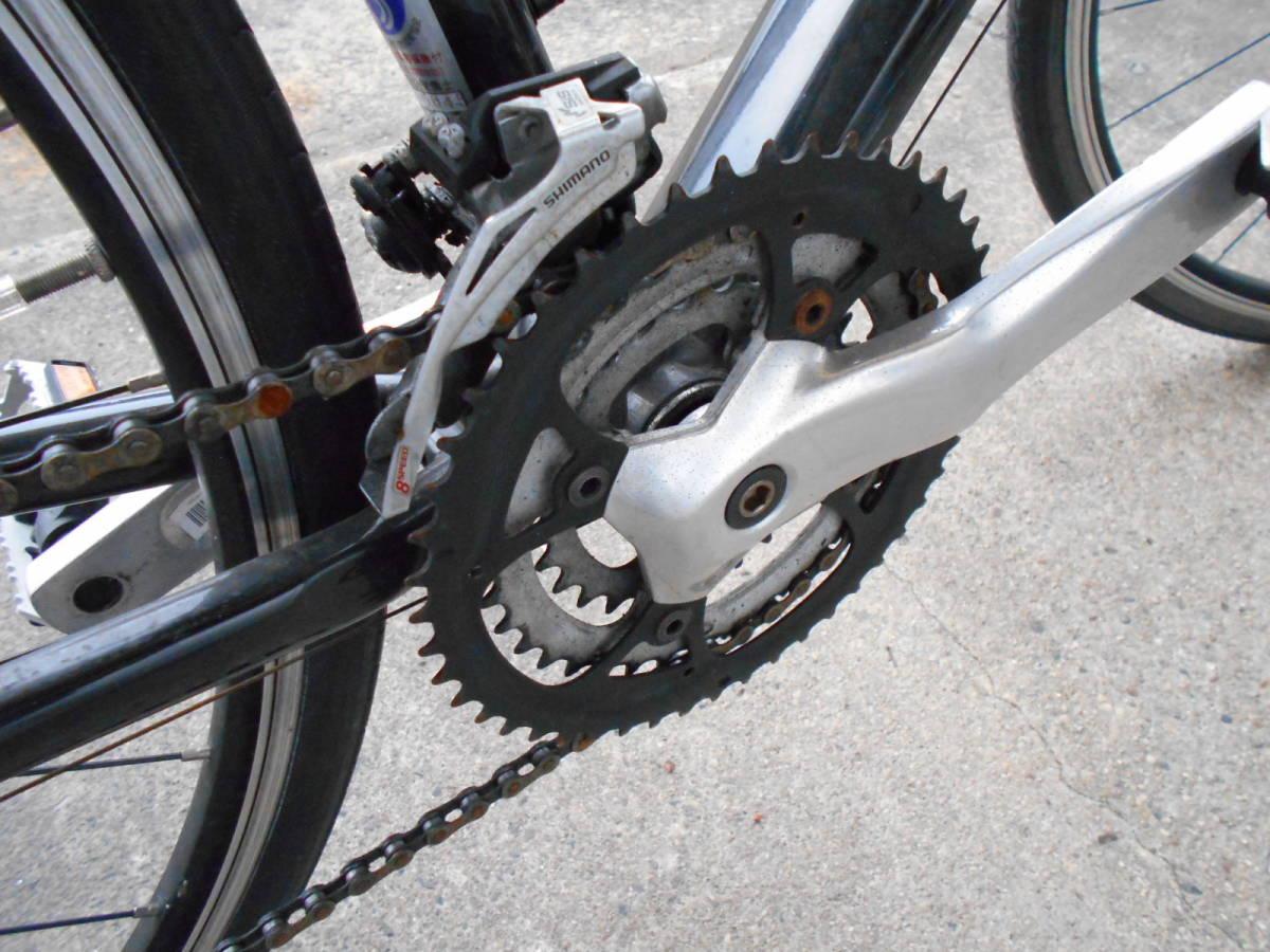 中古 GIANT ジャイアント ESCAPE エスケープ RX クロスバイク 自転車 24段変速 軽量アルミフレーム_画像8