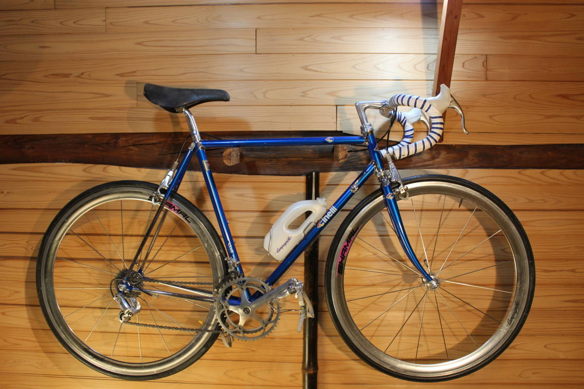 Made in Italy CINELLI SUPER CORSA (Supercorsa) with CAMPAGNOLO CROCE D'AUNE RECORD GROUPSET, DELTA BRAKES + VIDEO _画像1