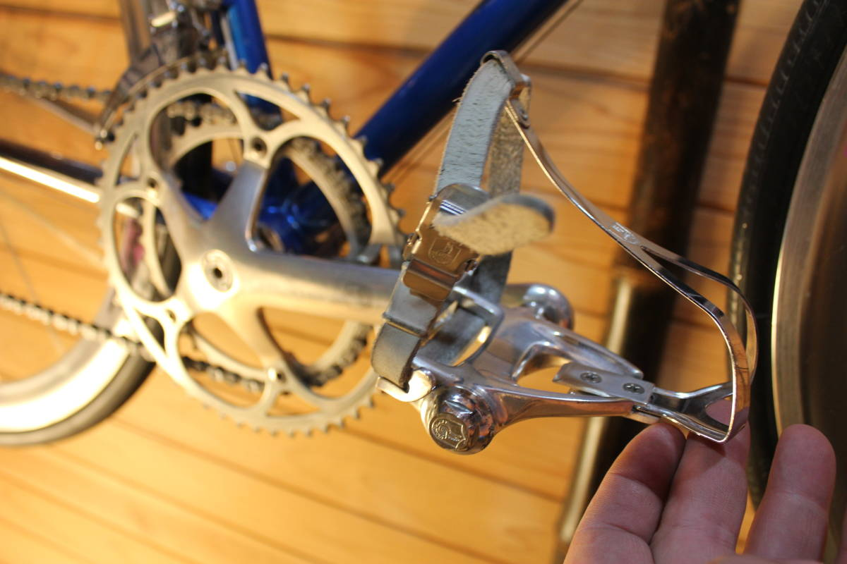 Made in Italy CINELLI SUPER CORSA (Supercorsa) with CAMPAGNOLO CROCE D'AUNE RECORD GROUPSET, DELTA BRAKES + VIDEO _画像8