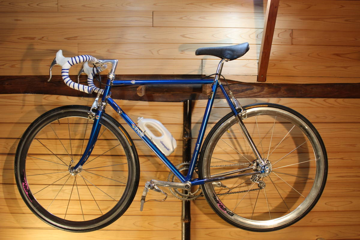 Made in Italy CINELLI SUPER CORSA (Supercorsa) with CAMPAGNOLO CROCE D'AUNE RECORD GROUPSET, DELTA BRAKES + VIDEO _画像2