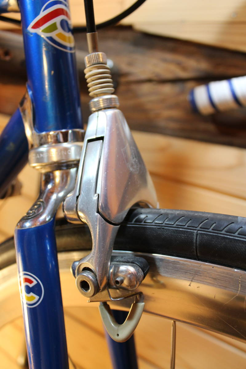 Made in Italy CINELLI SUPER CORSA (Supercorsa) with CAMPAGNOLO CROCE D'AUNE RECORD GROUPSET, DELTA BRAKES + VIDEO _画像5