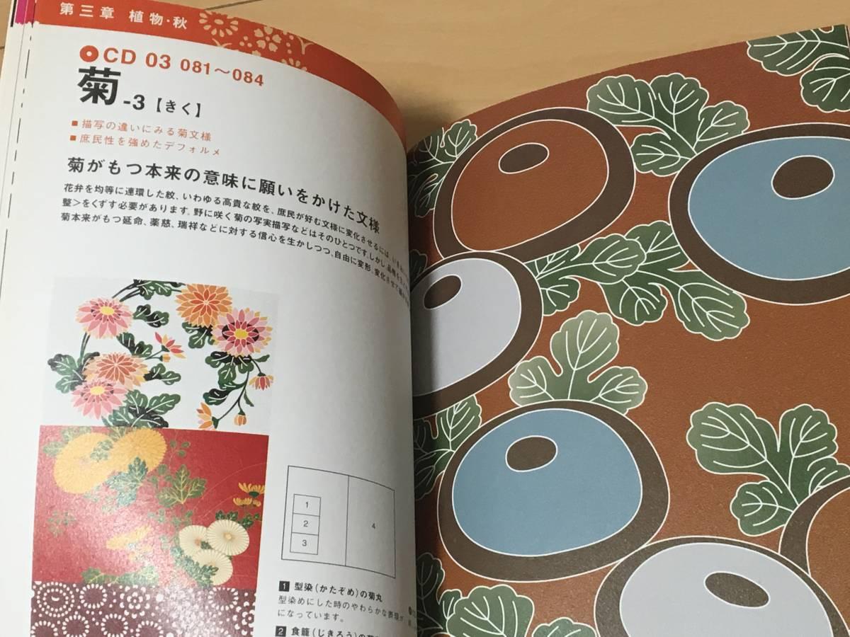 単行本・CD-ROM付き◆『日本の伝統文様 CD-ROM素材250』中村 重樹 (著)◆中古本※帯付き_画像7