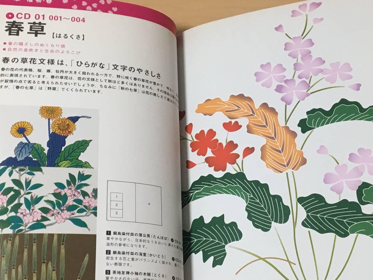 単行本・CD-ROM付き◆『日本の伝統文様 CD-ROM素材250』中村 重樹 (著)◆中古本※帯付き_画像6