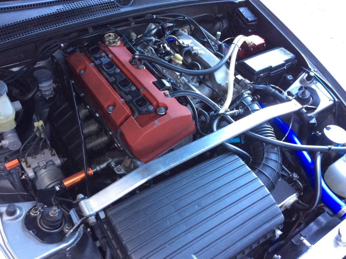 S2000 CUSCO クスコ フロント タワーバー改 エンジントルクダンパー付 中古 AP1 AP2_画像5