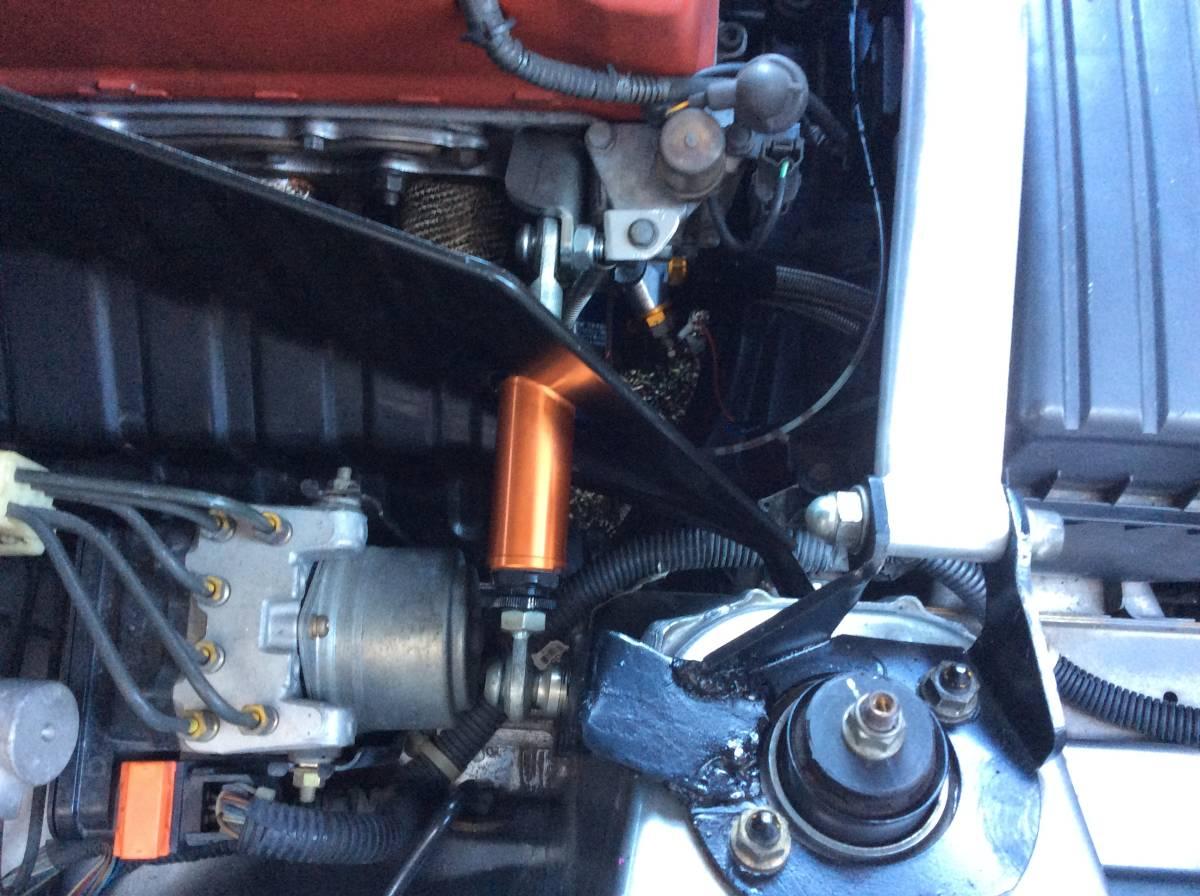 S2000 CUSCO クスコ フロント タワーバー改 エンジントルクダンパー付 中古 AP1 AP2_画像6