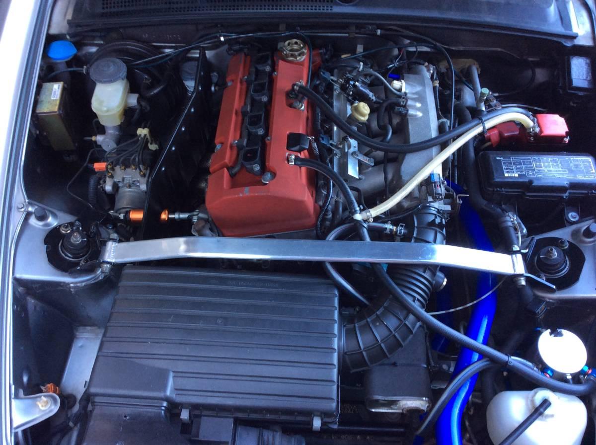 S2000 CUSCO クスコ フロント タワーバー改 エンジントルクダンパー付 中古 AP1 AP2_画像7