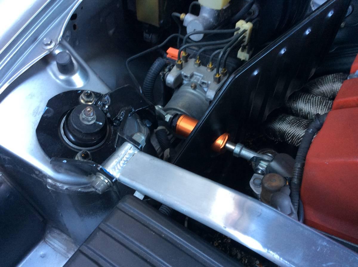 S2000 CUSCO クスコ フロント タワーバー改 エンジントルクダンパー付 中古 AP1 AP2_画像8