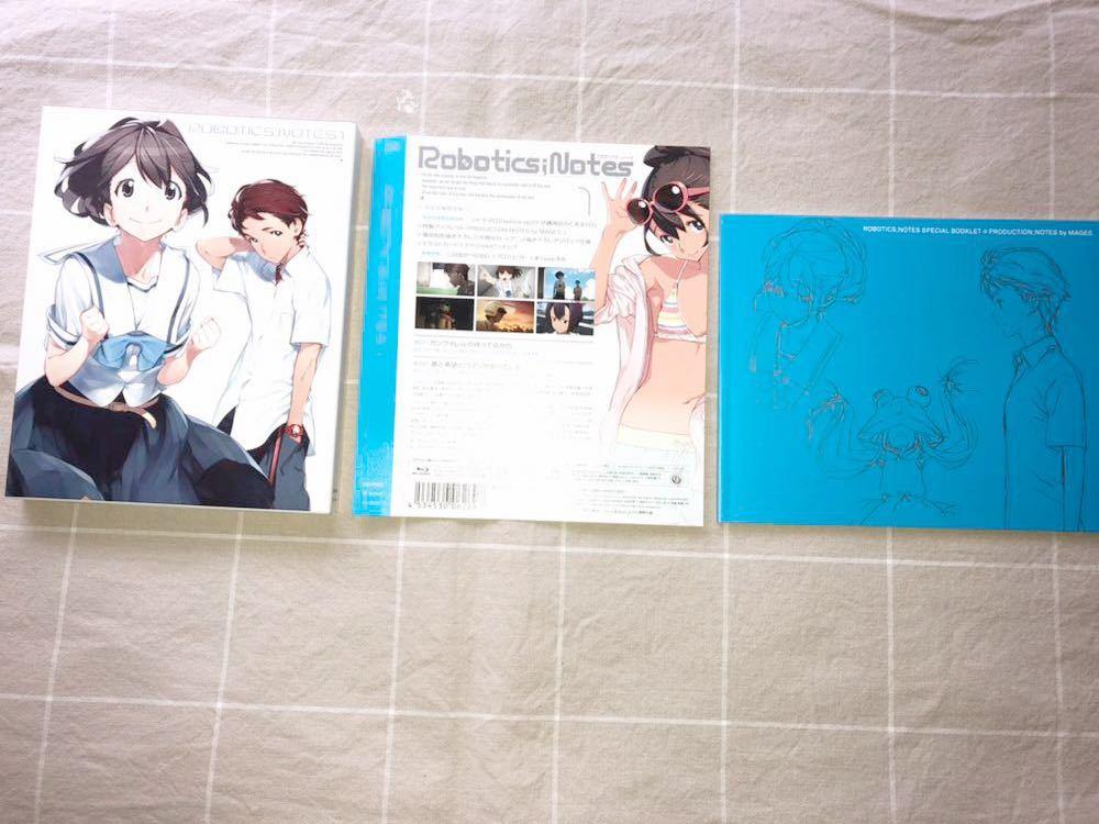 ◆Robotics;Notes 1・2巻 Blu-ray 完全生産限定版