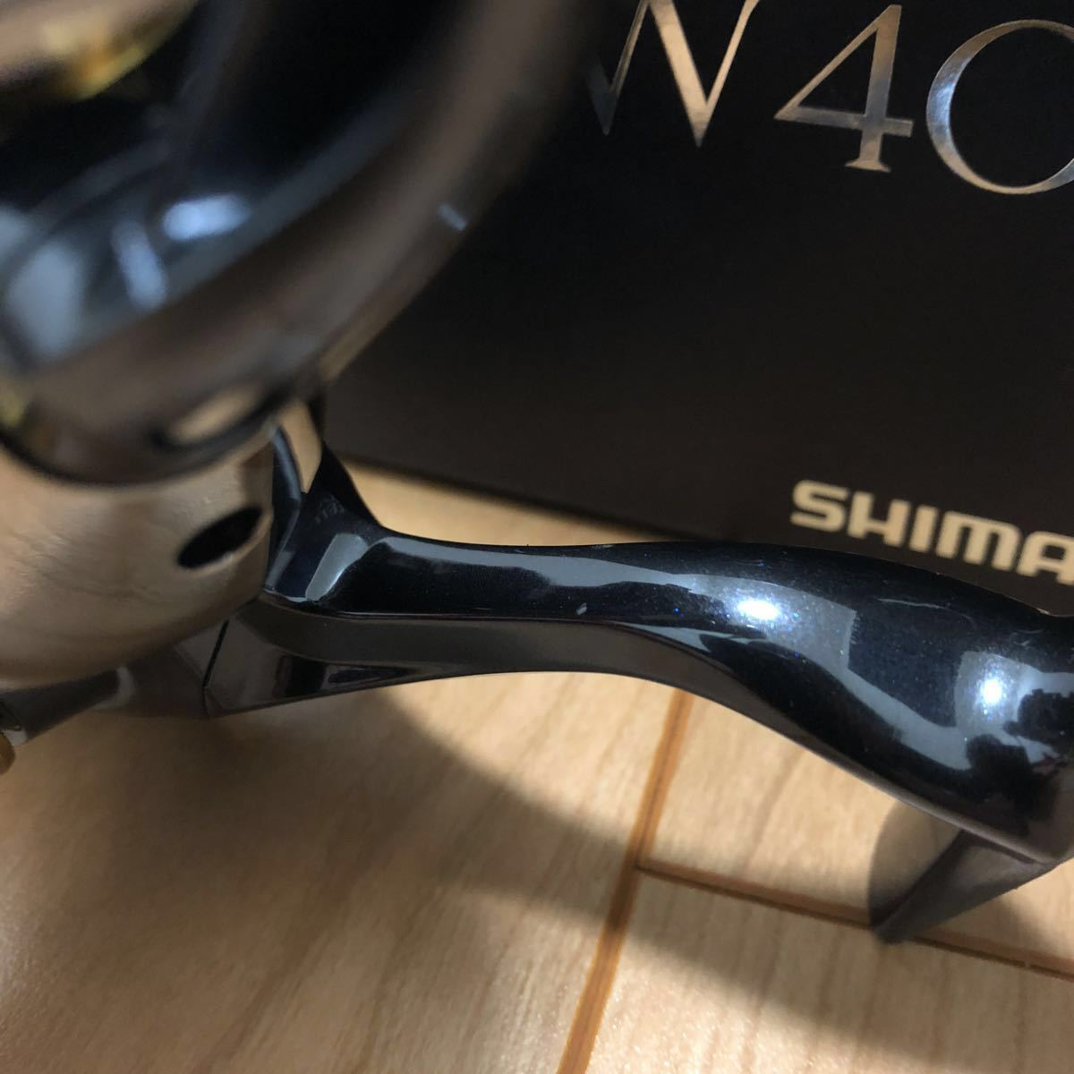 シマノ13ステラ4000XG SW 美品 & G-soul SUPERJIGMAN X8 セット_画像4