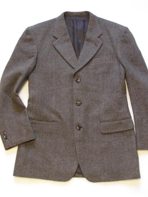 ◇美品 MACOOBI メンズ ジャケット ツイードジャケット size LL 秋冬 ウール
