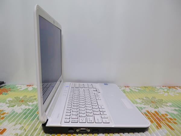 【高速Core i7(Sandy Bridge)★爆速新SSD512GB】AH53/J 富士通 ホワイト 最新Windows10 ★ メモリ8GB Blu-ray搭載 HDMI Wi-Fi Office2016_画像4