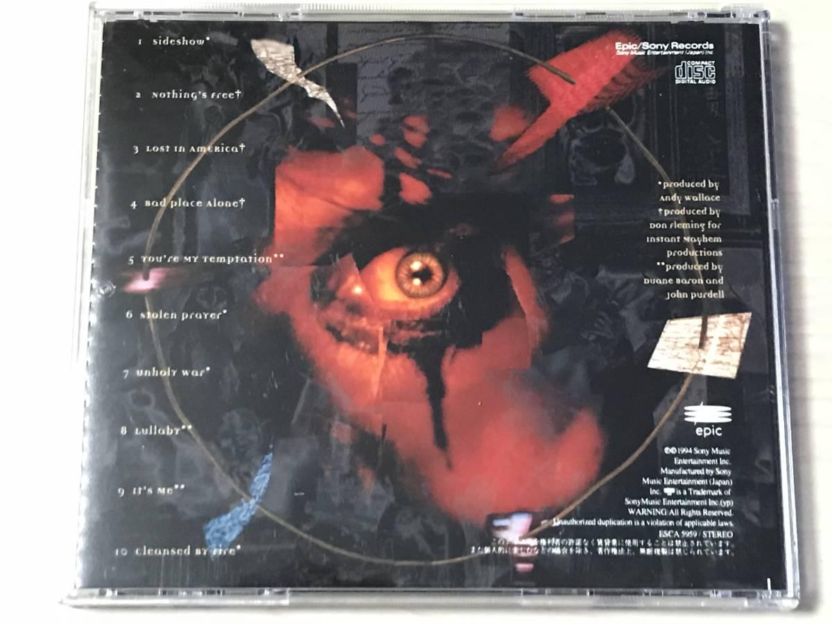 ALICE COOPER - THE LAST TEMPTATION 94年 日本盤 廃盤 レア盤_画像2