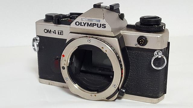 ★通電、露出反応あります★OLYMPUS OM-4 Ti オリンパス フィルム一眼★4708_画像1