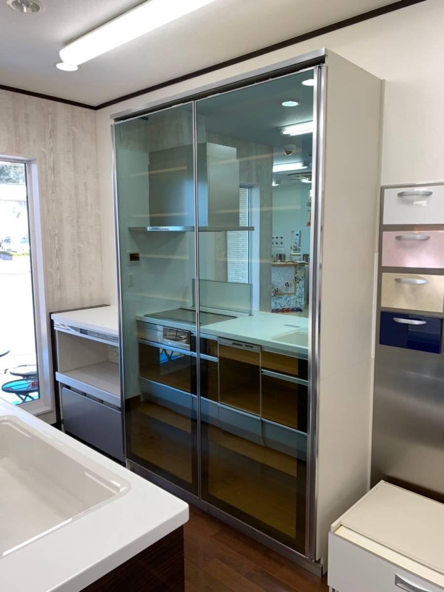 H9227◆展示品◆クリナップ◆最高級システム食器棚◆壁面収納◆レンジボード◆大容量◆定