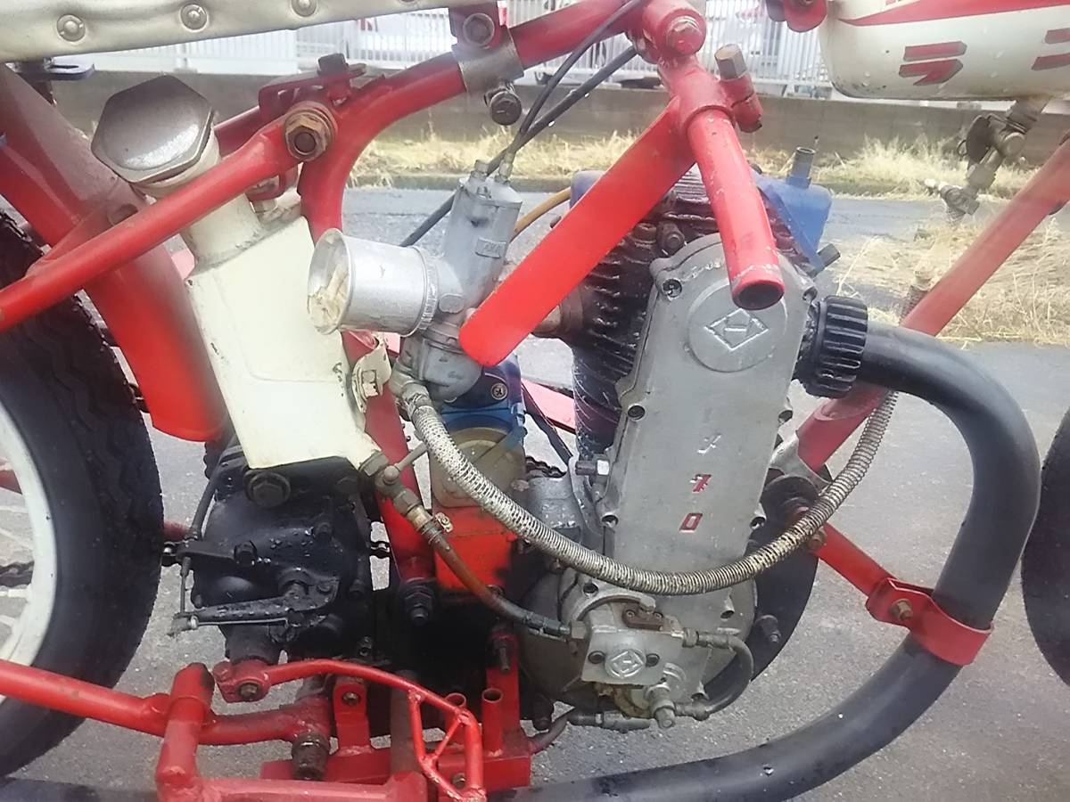 オートレース メグロ エンジン オートレーサー 浜松_画像4