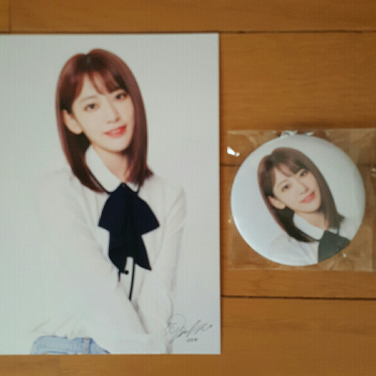 free shipping IZ*ONE I z one IZONE member another can bachi photo card set [. side . good ] ShowCon official goods