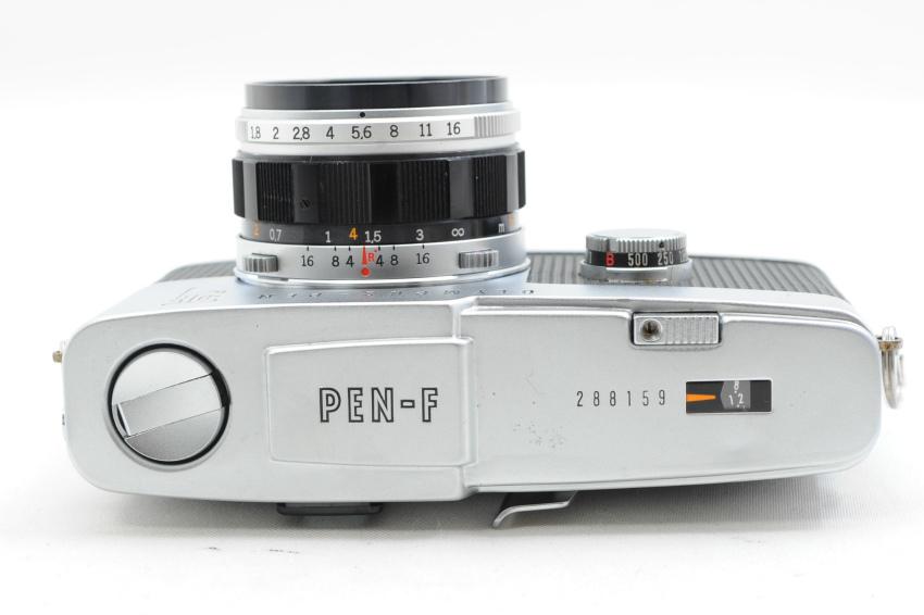 【ecoま】オリンパス OLYMPUS PEN-F 38mmレンズ付き ジャンク ハーフサイズ フィルムカメラ_画像4