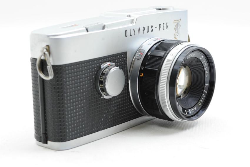 【ecoま】オリンパス OLYMPUS PEN-F 38mmレンズ付き ジャンク ハーフサイズ フィルムカメラ_画像3