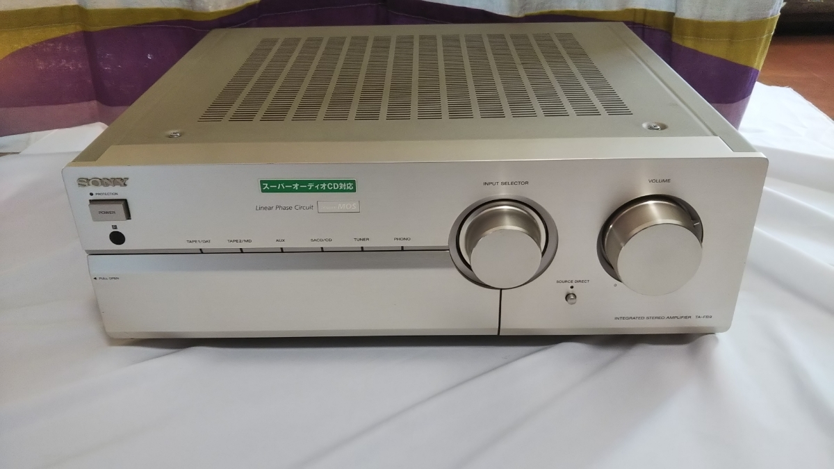 Sony Stereo Pre Main Amplifier Ta Fb9 Real Yahoo Auction Salling Circuit