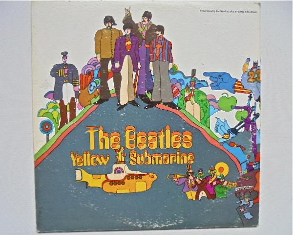Appleレコード The BEATLES『YELLOW SUBMARINE』US盤 SW 153 初盤美品_画像1