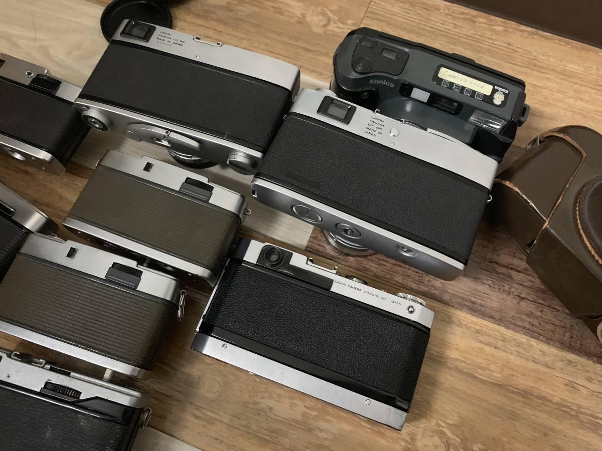フィルムカメラCanon VT Canonet QL Olympus pen F Olympus eed ee3 olympus ec2 まとめ9点 ジャンク_画像7
