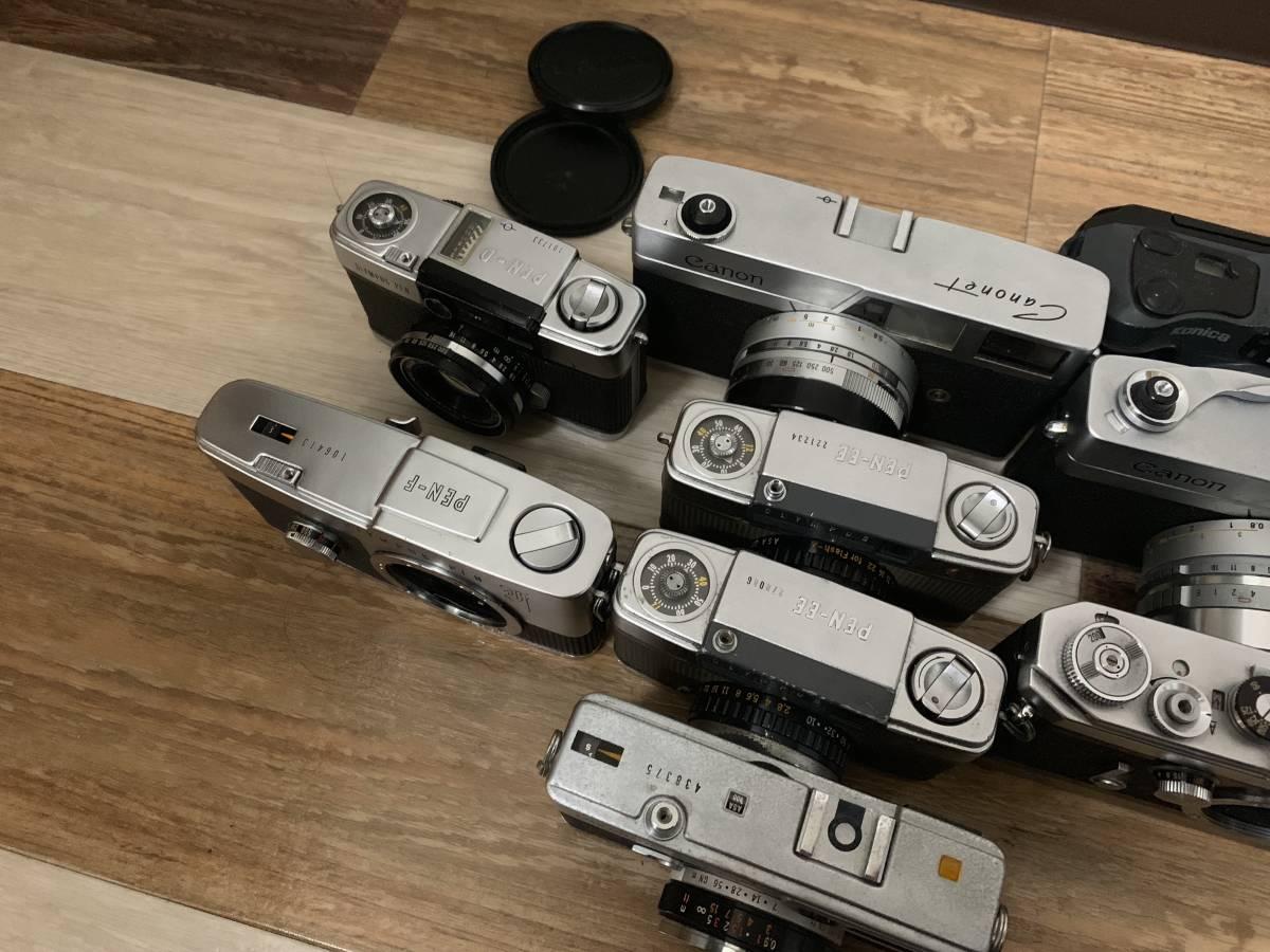 フィルムカメラCanon VT Canonet QL Olympus pen F Olympus eed ee3 olympus ec2 まとめ9点 ジャンク_画像6