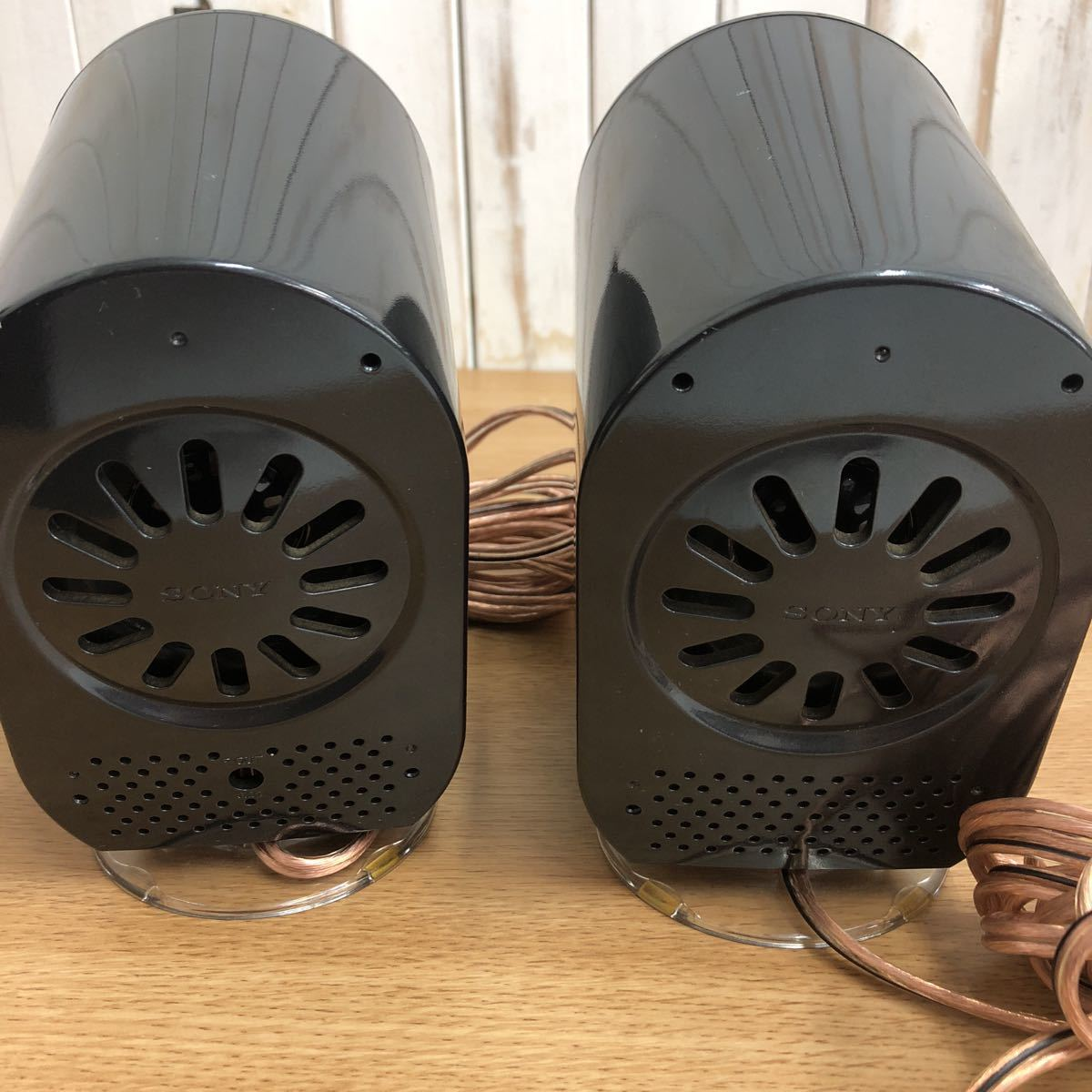 YAMAHA サブウーファー YST-FSW150 オマケ ソニーサブスピーカー 二台 通電のみ確認 1円スタート _画像8