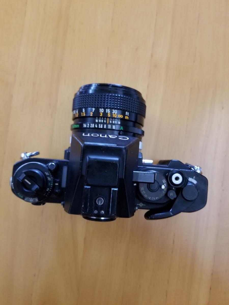 キャノン一眼レフカメラ、シャッター作動、ジャンク扱い_画像2