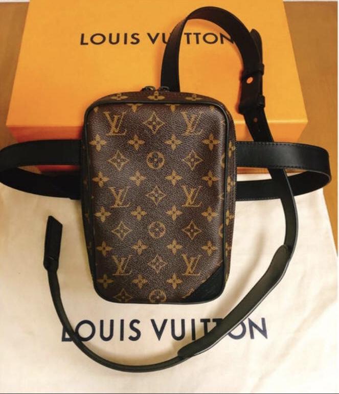国内正規 新品 LOUIS VUITTON ルイヴィトン 19ss VIRGIL ABLOH ヴァージルアブロー M44428 UT.SIDE BAG モノグラム ウエスト バッグ ポーチ