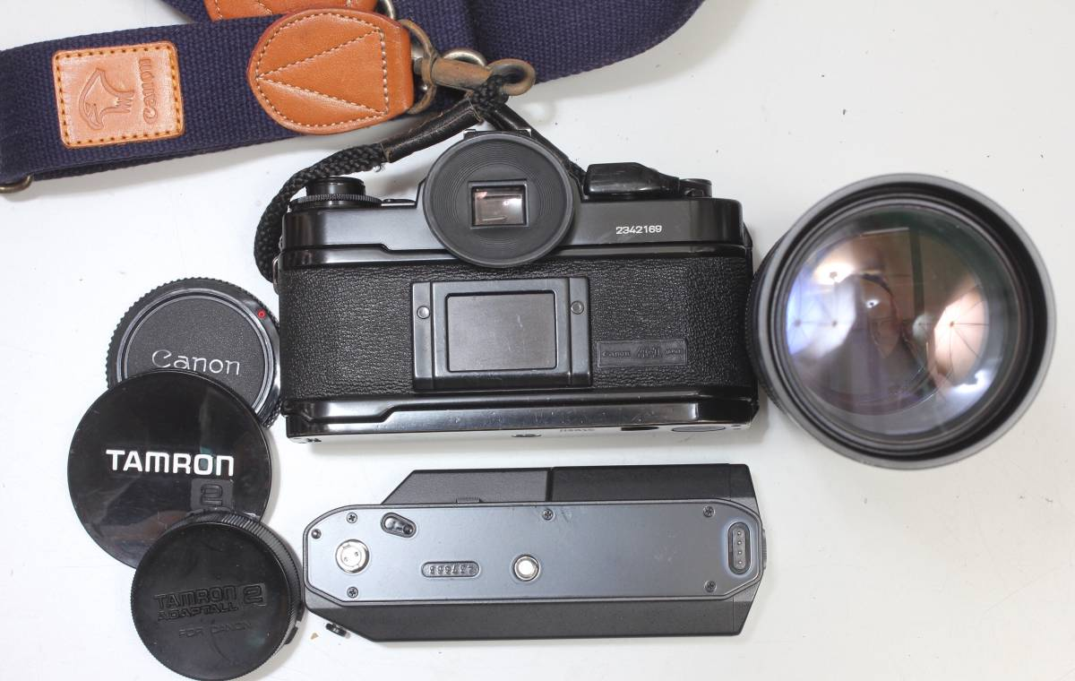 CanonA-1、レンズ、POWER WINDER A2 3 点おまとめ!16341二_画像2