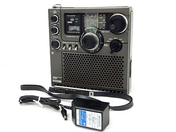 QJ2 SONY ソニー スカイセンサー ICF-5900 BCLラジオ 動作品