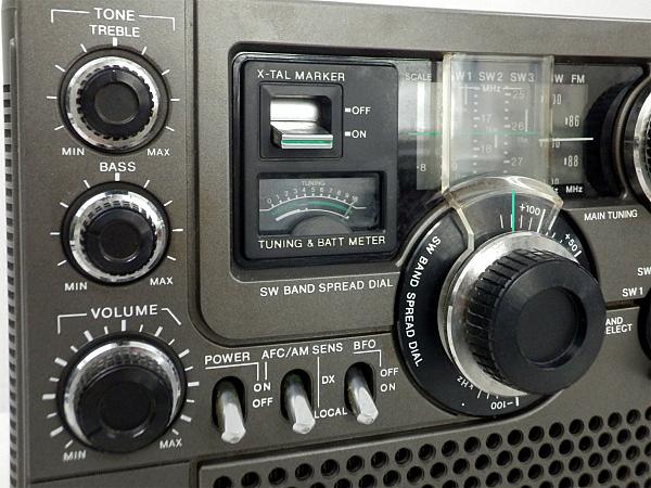QJ2 SONY ソニー スカイセンサー ICF-5900 BCLラジオ 動作品_画像4