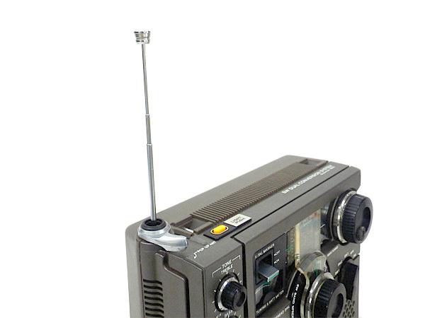 QJ2 SONY ソニー スカイセンサー ICF-5900 BCLラジオ 動作品_画像6