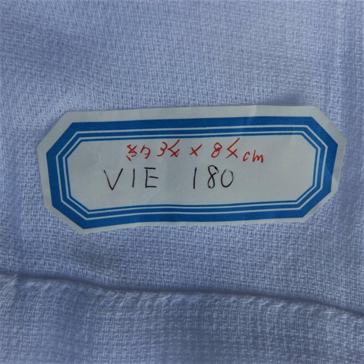 T-002A まとめて600枚 輸入品 白タオル フェイスタオル 180匁 VIE180 平地付 綿100% 格安 雑巾 介護 ウエス タオル 白 業務用 新品_画像4